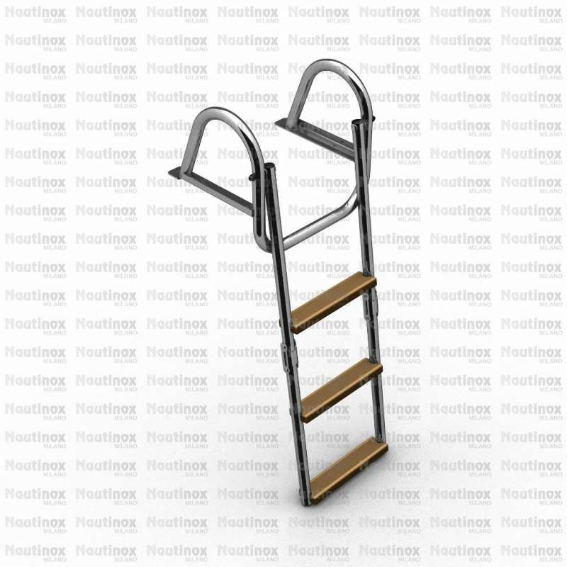 Ladder series 2218 | Sale Nautical Accessories in stainless
